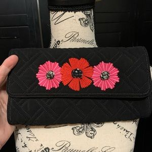 Vera Bradley Flower Clutch
